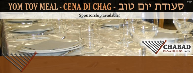 Shevii shel Pesach evening with Chabad