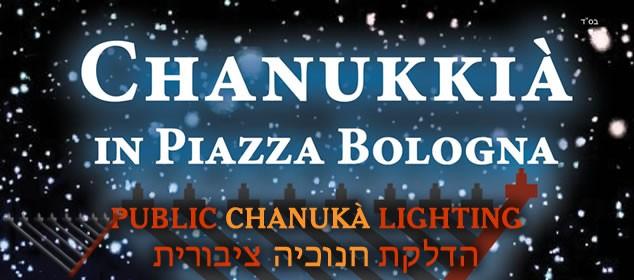 Public Chanukah Lighting of Chocolate Menorah