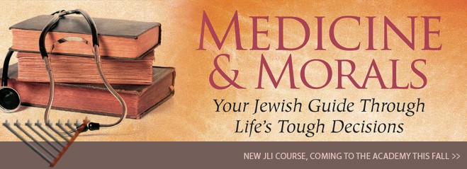 Medicine and Morals: JLI course for students